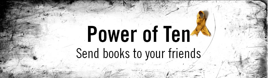 power of 10- send books to your friends